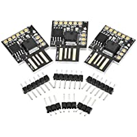 KKmoon 3pcs Digispark Kickstarter Micro USB Development Board for Arduino ATtiny85