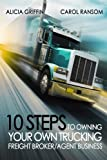 10 Steps to Owning Your Own Trucking: Freight Broker/Agent Business