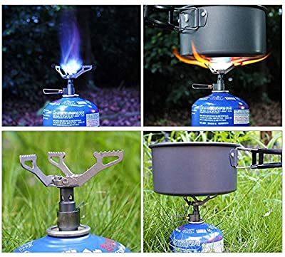 BRS Only 25g BRS-3000T Ultra-Light Titanium Alloy Camping Stove Gas Stoves Outdoor Cooker Outdoor Stove Gas Stove Miniature Portable Picnic
