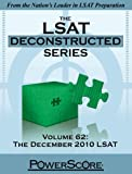 The LSAT Deconstructed, Volume 62, David M. Killoran and Steven G. Stein, 0982661878