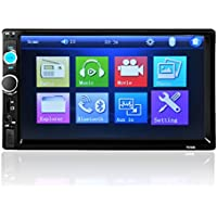 Iuhan® New 7 HD Bluetooth Touch Screen Car Stereo Radio 2 DIN FM/MP5/MP3/USB/AUX