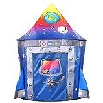 Tacobear Razzo Tenda per Bambini Tenda Razzo Tenda da Gioco Portatile Tenda Pop Up Casa Gioco Castello Giochi per… 51dYLUXMSAL. SS150
