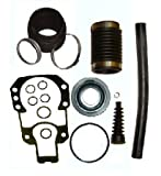 Transom Bellows Kit with Gimbal Bearing for Mercruiser Alpha I Gen II similar to 30-803099T1