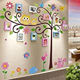 TIANTA- Solid Wood Photo Wall Frame Combination Refreshing Creative Children Bedroom Wall Color Kindergarten Classroom Photo Wall adorn ( Color : #5 )