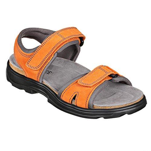 JOE N JOYCE Marrakesch suede Trekking sandals Orange 5ADfvKri
