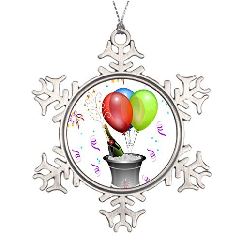 Metal Ornaments Tree Branch Decoration balloons Christmas Decorating Ideas Make Your Own Snowflake (Halloween Walt Disney World 2017)
