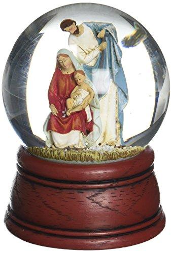 (Joseph's Studio Holy Family glitterdome)