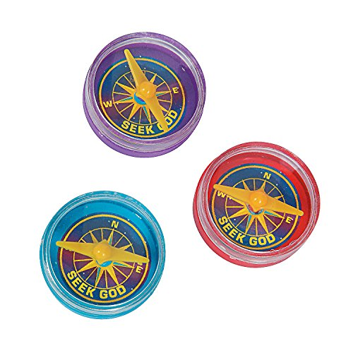 Fun Express - God's Galaxy Vbs Compass - Toys - Active Play - Camping Toys - 48 Pieces