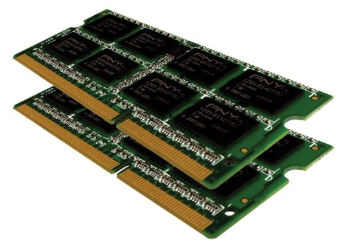 (PNY MN4096KD3-1066 Optima 4 GB (2x2 GB) Dual Channel Kit DDR3 1066 MHz PC3-8500 Notebook SODIMM Memory Module)