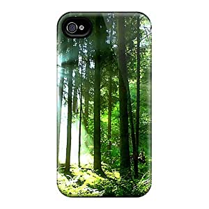 Protective Tpu Case With Fashion Design For Iphone 4/4s (energy Of Light)