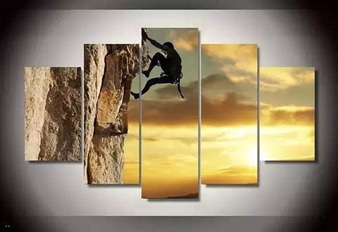 Lhisipart 5 Parti Stampate Decorazione Murale Su Tela ...