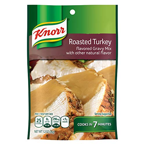 (Knorr Gravy Mix, Roasted Turkey 1.2 oz (Pack of 24))