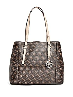 GUESS Delaney Shopper-Brown