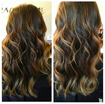 Amazon chocolate brown with caramel highlights hair chocolate brown with caramel highlights hair extensions 22 inches pmusecretfo Gallery
