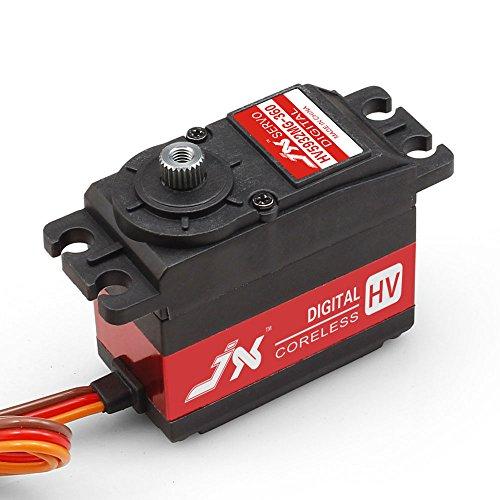 Superior Hobby JX PDI-HV5932MG-360 32KG 360 degree High Precision Metal Gear High Voltage Digital Coreless Standard Servo ()