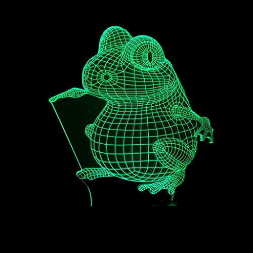 Acrylic Frog Led Light