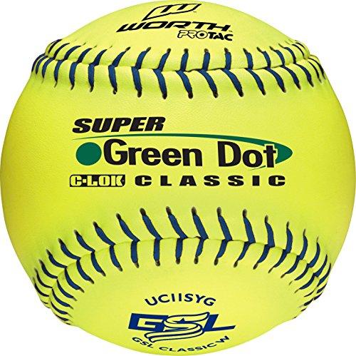 Worth Sports Pro Tac Classic W00542707 Softball 11'' Classic W, Yellow by Worth