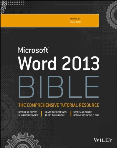 Download Word 2013 Bible by Lisa A. Bucki (9-Apr-2013) Paperback pdf
