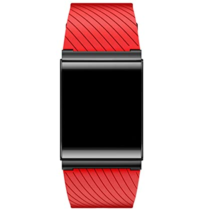 MagiDeal Agua Densidad Reloj Pulsera Fitness aktivitäter Sensor Smart Watch TPU Cinta de Repuesto para iOS