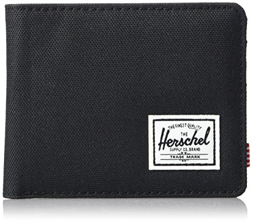 Herschel Supply Co. Men's Roy RFID Wallet, Black, One Size