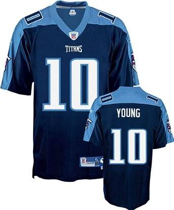 Amazon.com: Vince Young Navy Reebok NFL