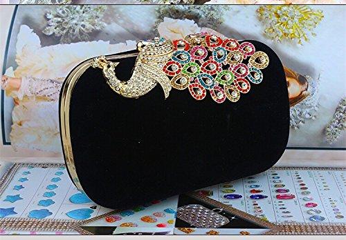 femme Pochette noir noir femme pour pour Ledyoung Ledyoung Ledyoung pour Pochette noir femme Pochette q4v5A4