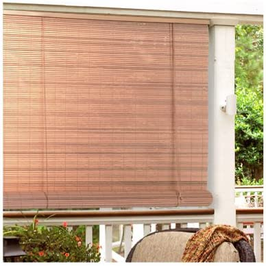 Vinyl Roll-Up Blind Set of 6 Size 36 Wide x 72 Long