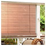"Vinyl Roll-Up Blind [Set of 6] Size: 36"" Wide x 72"" Long"