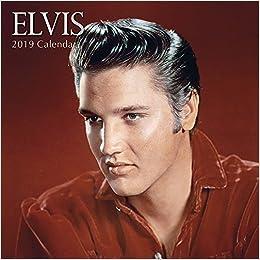 Elvis 2019 Square Wall Calendar