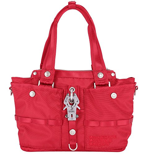 George Gina & Lucy Borsa Messenger, Rot (rosso) - 26401