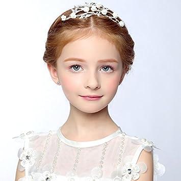 43191c928217 AdornHome Copricapo della ragazza La primavera e l estate bambini accessori  per capelli ragazze corona