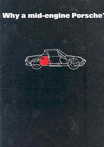 1970 Porsche 914 914/6 Sales Brochure