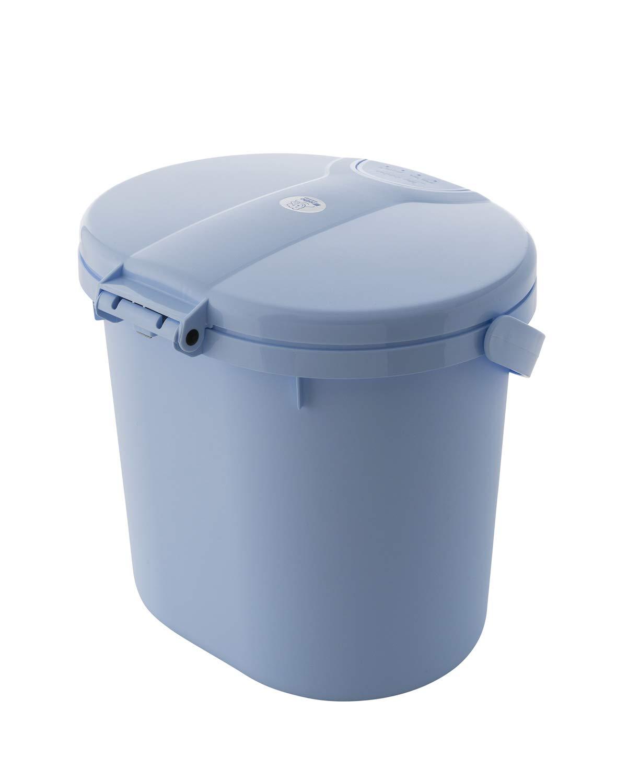 color azul claro Rotho Babydesign 20002 0103 Top Cubo de basura para pa/ñales