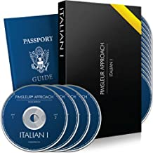 PIMSLEUR ITALIAN LEVEL 1 - Learn Italian w/Dr. Pimsleur's Famous Italian Language Learning Course, Featured on PBS. Beginner Italian to Intermediate Fast! - Press Play, Listen & Learn the Italian Language - 30 Italian Lessons/16 Audio CDs