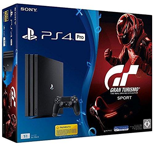 Sony PlayStation 4 Pro 1TB + Gran Turismo Sport Negro 1000 ...