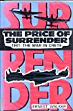 img - for The Price of Surrender: 1941 : The War in Crete book / textbook / text book