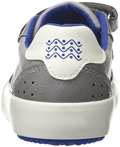 Geox Alonisso G, Zapatillas Para Niños Gris (Grey)