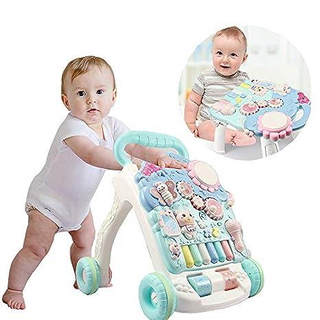 Rabbfay Bebé Sentado Doble- Utilizar Andadores, Multifuncional ...
