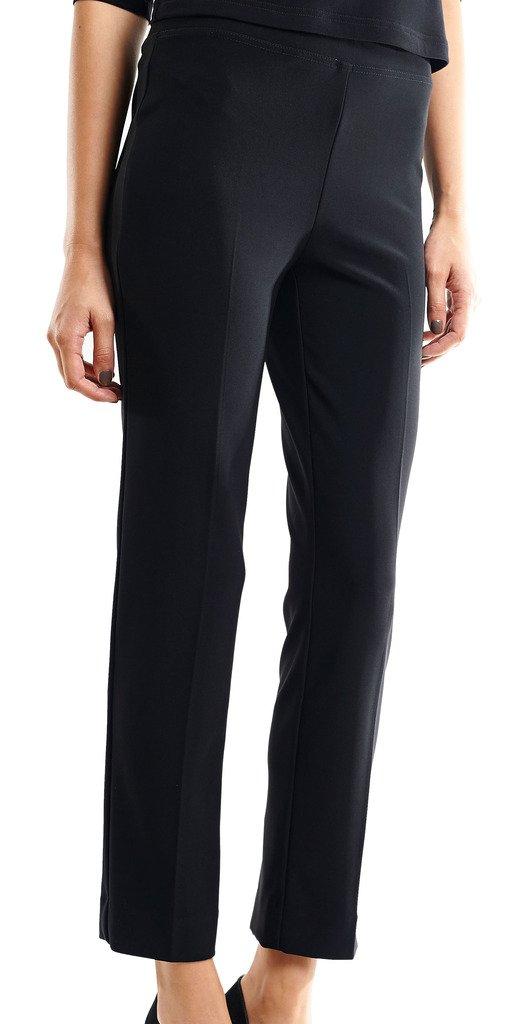 Joseph Ribkoff Black Elastic Waist Pull-On Stretch Pants Style 143105 - Size 8