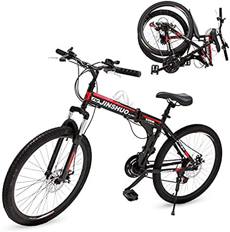 Riscko Bicicleta Mountain Bike Plegable Teide Bep-36 Verde: Amazon ...