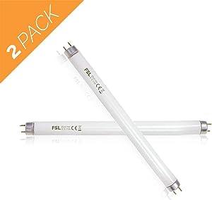 Aspectek Bug Zapper Replacement UV Lamp Bulb Light Tube 10W for 20W Electronic Bug Zapper, 2-Pack