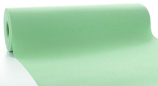 Mank Airlaid Camino de mesa 40 cm x 24 m rollo de mantel, tela ...