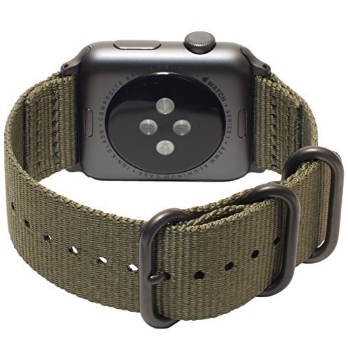 Buy army green watch band apple