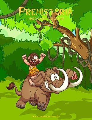 Prehistoria libro para colorear 1: Volume 1: Amazon.es: Snels, Nick: Libros