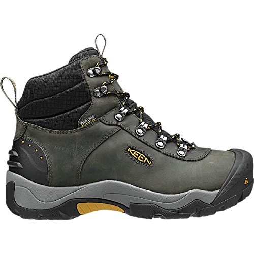 KEEN Men's Revel III Winter Boot, Magnet/Tawny Olive, 9.5 M US