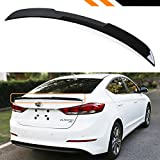 Cuztom Tuning For 2017-2018 Hyundai Elantra Sedan Painted Glossy Black H Style Trunk Lid Spoiler Wing