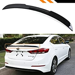 100% Brand New.KDM H Style Sleek Spiky High Hick Spoiler At Low Price.Gives Your Car the Sport Look At Reasonable PriceExcellent Fitment and Quality.Made of Light Weight & Top-Grade Durable ABS Plastic MaterialItem is in Pre-Painted Gloss...