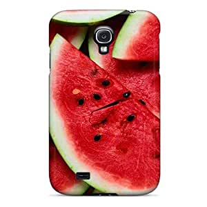 Premium Sliced Watermelon Hd Wide Back Cover Snap On Case For Galaxy S4