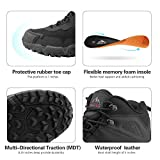 NORTIV 8 Men's Waterproof Hiking Boots Lightweight