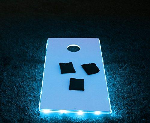 Brightz, Ltd. Blue Toss Brightz LED Lights Cornhole Board Accessory (Adult Outdoor Games compare prices)